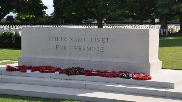 Their name liveth for evermore (photo JT)